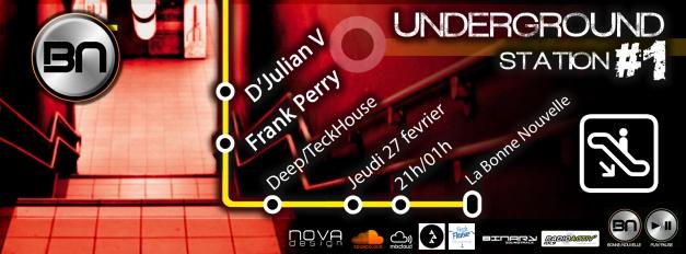 underground station 1 bandeau