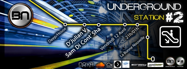 underground station 2 bandeau
