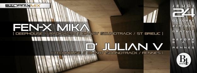 BinaryMix - FenX / D'Julian V @B4