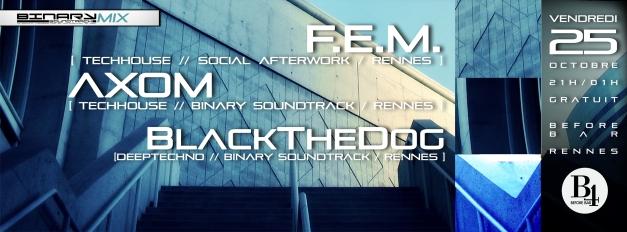 BinaryMix - F.E.M./Axom/BlackTheDog @B4