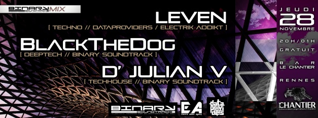 28.11.2013 Leven &  BlackTheDog & D'Julian V